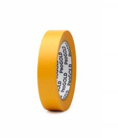 ProGOLD Masking tape geel - 24 mm * 50 mtr