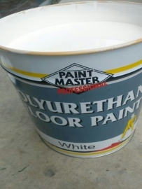 PU betoncoating WIT - Paintmaster FLOORPAINT - WIT