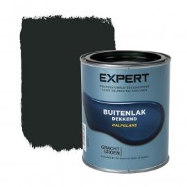 1 blik 750 ml - Sikkens Expert Buitenlak halfglans - Grachtengroen