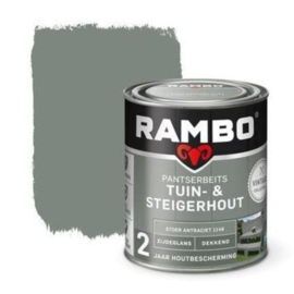 Rambo / Bondex Tuin & Steigerhout - Stoer antraciet 1148 - 750 ml