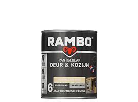 RAMBO PANTSERLAK DEUR & KOZIJN TRANSPARANT HOOGGLANS - Kleurloos 0000 - 0,75 liter