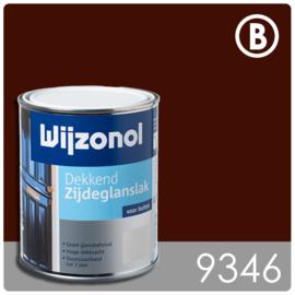 Wijzonol Dekkend Zijdeglanslak 9346 Bordeauxrood - 750 ml