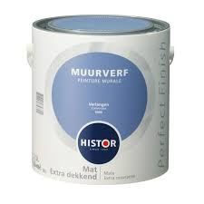 Histor Perfect Finish Muurverf Mat - verlangen 6909 - 2,5 Liter