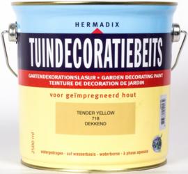 Hermadix Tuindecoratiebeits 718 Tender Yellow - 0.75 liter