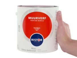 Histor Perfect Finish Muurverf Mat -vermiljoen 6977 - 2,5 Liter