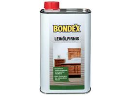 bondex Lijnolie vernis - leinolfirnis - kleurloos - 0,5 liter -Lijnolievernis