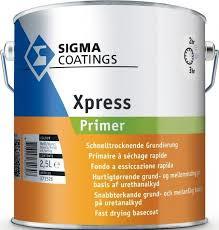 Sigma XPress Primer - WIT - 2.5 liter - SNELGROND