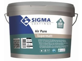 Sigma Air Pure Supermatt - WIT - 10 liter