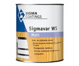 Sigmavar WS Matt- Kras- en slijtvaste lak - Blank kleurloos -  0.5 liter