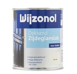 Wijzonol Dekkend Zijdeglanslak 9400 Klassiekbruin - 750 ml