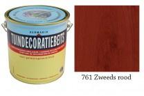 Hermadix Tuindecoratiebeits 761 Zweeds rood - 0.75 liter