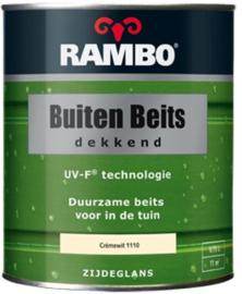 RAMBO Buitenbeits Dekkend - Cremewit 1110 - 0,75 liter