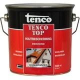 Tencotop Houtbescherming Dekkend 28 Purperrood - RAL 3004 Purperrood - 0,75 liter