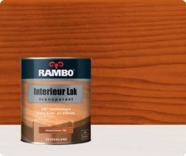 RAMBO INTERIEUR - VLOER LAK TRANSPARANT ZIJDEGLANS - Naturelkersen 768 - 0,75 liter