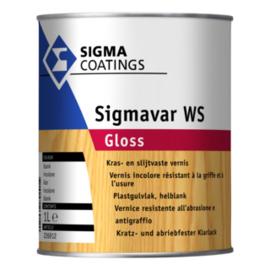 Sigmavar WS Gloss - Kras- en slijtvaste lak - Hoogglanzend Blank -  2,5 liter