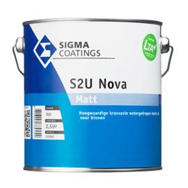 Sigma S2U Nova Matt - krasvast - WIT - 1 liter