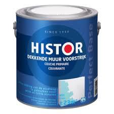Histor dekkende muur voorstrijk wit - 10 liter