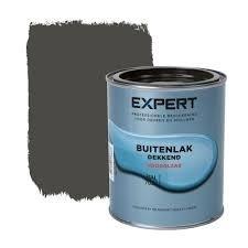 1 blik 750 ml - Sikkens Expert Buitenlak hoogglans - RAL 7022 Ombergrijs