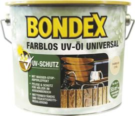 Bondex Kleurloos UV olie universeel - 2,5 liter