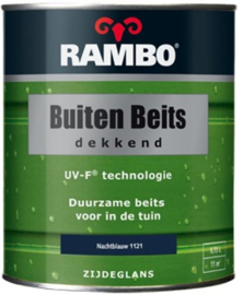 RAMBO Buitenbeits Dekkend - Nachtblauw 1121 - 0,75 liter