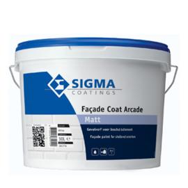 Sigma Facade Coat Arcade Matt - Wit -  10 liter
