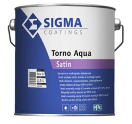 Sigma torno aqua satin - WIT - 2,5 liter