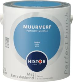 Histor Perfect Finish Muurverf Mat - Turbo 6773 - 2,5 Liter