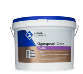 Sigmapearl Clean Satin  - 2,5 liter - WIT