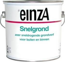 einzA - Snelgrond -  0.75 liter - wit - Na 1 uur overschilderbaar