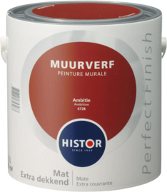 Histor Perfect Finish Muurverf Mat - Ambitie 6728 - 2,5 Liter