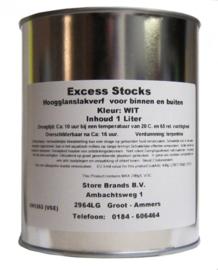 Extra Duurzaam Hoogglans XD technologie wit of lichte kleuren 1 liter - AKZO NOBEL - EXCESS STOCKS - STORE BRANDS