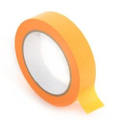 Masking tape geel - 36 mm * 50 mtr