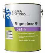 Sigmaluxe Satin - TRAPPENVERF - Wit - 5 liter
