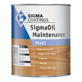 SigmaOil Maintenance Matt - 1 liter - Onderhoudsolie - Transparant
