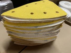 schuurmaterialen strijkijzer model p150 - 100 stuks