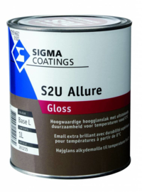 Sigma S2U Allure Gloss - Ral 5019 Capriblau  - 2.5 liter