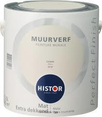 Histor Perfect Finish Muurverf Mat -loom 6939 - 2,5 Liter
