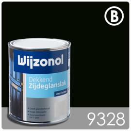 Wijzonol Dekkend Zijdeglanslak 9328 Antiekgroen - 750 ml