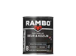 RAMBO PANTSERLAK DEUR & KOZIJN DEKKEND HOOGGLANS - Cremewit 1110 - 0,75 liter