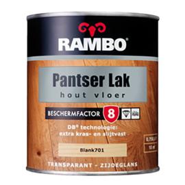 Rambo Pantserlak Hout Vloer Transparant Zijdeglans - Warm Wenge 776 - 0,75 liter