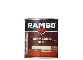 RAMBO TUINMEUBEL OLIE TRANSPARANT - Kleurloos 0000 - 0,75 liter