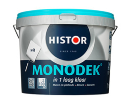 Histor Monodek  - 10 liter - WIT of lichte kleuren