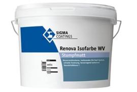 Sigma Renova Isofarbe WV Matt - Wit - 5 liter