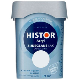 Histor Perfect Finish Acryl Zijdeglans - Leliewit 6213 - 750 ml