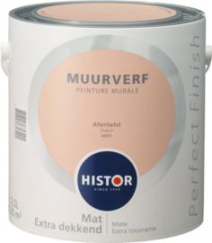 Histor Perfect Finish Muurverf Mat - Allerliefst 6937 - 2,5 Liter