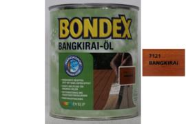 BONDEX Bangkirai Olie  - Bangkirai öl - 3 liter