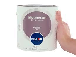 Histor Perfect Finish Muurverf Mat -combinatie 6458 - 2,5 Liter
