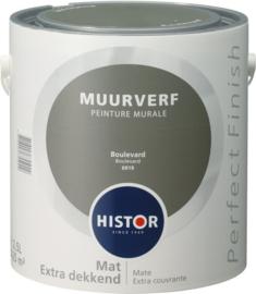 Histor Perfect Finish Muurverf Mat - Boulevard 6919 - 2,5 Liter