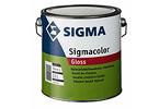 SIGMACOLOR GLOSS - ONGEVEER N0.15.10 SCHADEBLIK - 2 L
