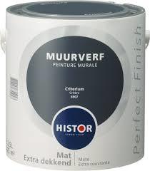 Histor Perfect Finish Muurverf Mat -criterium 6907 - 2,5 Liter